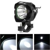 4-85V 30W T6 LED 1200lm Motorcycle Driving Headlight Fog Lamp Spot Lightt
