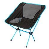 AOTU Outdoor Tragbarer Klappstuhl Ultraleicht Aluminium Camping Picknick BBQ Sitzhocker Max. Zuladung 150kg
