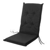 Składana poduszka Jednoosobowa wymienna poduszka na wysokie oparcie Mata na krzesło ogrodowe