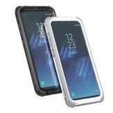 2en1imperméableantidéflagranteimperméable à l'eau PC PET TPU Case pour Samsung GalaxyS8Plus 6.2 ''