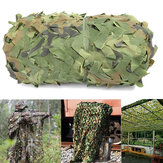 4mX6m Jungle Camo Netting Camouflage Net til bildække Camping Woodland Military Jagt