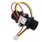 YF-S201C Siyah Akış Ölçer Su Akışı Sensör Anahtarlı Hassas Debimetre Türbin Debimetre G1/2 DN15