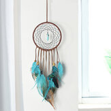 DIY Crochet Feather Dream Catcher Kit Hanging Decoration Home Wall Ornament Set for Bedroom Decora