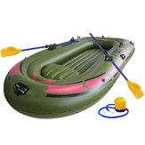 190*120см2-лицоЗеленый каяк ПВХ надувной Лодка Резина надувной Лодка Весла Воздух Насос Веревка Set