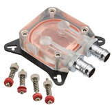 GPU Water Cooling Block PC Copper High Performance Liquid Cooler AMD NVIDIA W40