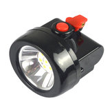 3W 3000LM Miners Cordless Power LED Helmet Light Safety Head Cap Lamp Torch Fishing Lamp