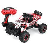 Auto RC in lega di metallo 1/12 con due modelli di veicoli RC ricaricabili Batterie 4WD 2.4G fuoristrada Big Foot Crawler