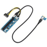 0.6m USB3.0 PCI-E 1x To16x Extender Riser Card Adapter Extension Power Cable For ETH GPU Mining