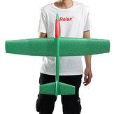 33 pulgadas de lanzamiento de mano enorme lanzando aviones avión DIY espuma inercial EPP avión de juguete