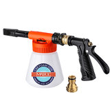 MATCC Car Foam Gun Foam und einstellbare Autowaschsprüher mit Einstellverhältnis Dial Foam Sprayer Fit Gartenschlauch für die Reinigung von zu Hause und den Garten 0.23 Gallon Bottom