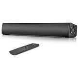 Bakeey Y9 Bluetooth Soundbar Bass Stereo 45MM Drivers 20W Speaker TF Card AUX-In 2000mAh Remotebox Soundbox with Mic for Smart Phone TV PC Tablet
