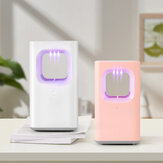 USB Electric Mosquito Killer LED Night Light Trap Lamp Fly Bug Pest Zapper dla Home Indoor Camping
