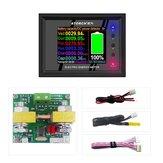 DT24P 1000V/100A External Shunt Digital DC Power Supply Voltmeter Ammeter Battery Coulometer Capacity Amp Tester Battery Fuel Meter for App