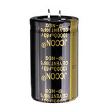 3Pcs 10000UF 63V 30x50mm Radial Aluminium Electrolytic Capacitor High Frequency 105°C