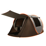 3-4/5-8 Person Camping Tent Double Door Breathable Automatic Family Tent Waterproof Sunshade Canopy Outdoor Hiking Beach
