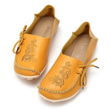 SOCOFY Casual Soft Flat Loafers