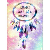 DIY 5D Diamond Painting Color Wind Chime Painting Embroidery Cross Stitch Full Round Drill Gift Home Furnish