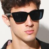 Unisex Retro Square Frame UV Protection Cool Fashion Sunglasses