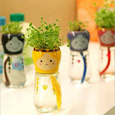 DIY Mini Doll Staart Water Absorptie Potplanten Desktop Office Decor