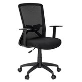 Douxlife® DL-OC04 Mesh Office Chair Ergonomic Design with Breathable Mesh High Elasticity Foam Cushion Lumbar Support for Home Office
