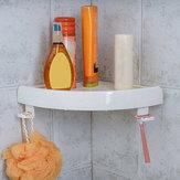 BadezimmerDuscheEckeLagerungPapierregalHalter Dusche Caddy Halter Rack Weiß Organizer