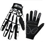 Mens Ghost Claw Человеческий скелет мотоцикл Полный палец Перчатки Зимние теплые рукавицы