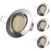 LUSTREON 3.5W 68 LED Rodada LED Luz de teto não-regulável embutida Downlight Holofote AC220-240V