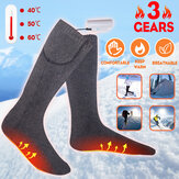 Bakeey Three Gears USB Calze Warm Foot Treasure Electric Heating Calze Winter Men and Women Foot Warmer Calze