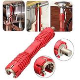 Wielofunkcyjny Antypoślizgowa bateria zlewozmywakowa Instalator Woda Rura Klucz nasadowy Klucz Spanner Łazienka Instalacja i naprawa narzędzia
