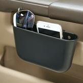 Armazenamento de carro de plástico portátil Caixa Assento de carro Gap Pocket Phone Holder Organizer