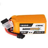 CNHL MINISTAR 22.2V 1800mAh 120C 6S LipoバッテリーXT60プラグ(RCレーシングドローン用)