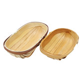 S / L Kayu Sussex Trug Garden Trugs Makanan Buah Sayuran Hand Made Baskets Storage