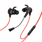 BaseusGAMOH153.5mmComFio de Controle de Fone De Ouvido Estéreo de Jogo de Fone De Ouvido de Alta Fidelidade com Dual Mic