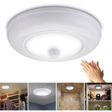 Ultra Bright Wireless Battery Powered Motion Sensor LED Ceiling Light Cabinet Lamp