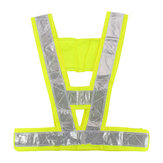 Traffic Security Vest High Safety Visibility Reflective Stripe Gear