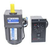 220V 15W AC Gear motor Controlador de velocidad 1:10 125 RPM motor Controlador de velocidad variable eléctrico