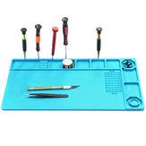 Lötmatte Telefon Reparatur Schreibtisch Pad Wartungsstation Magnetische Wärmeisolierung