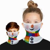 Christmas Printed Outdoor Dust and Insect Proof Breathable Soft Multi-functional Ear Mask
