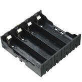 Plastic Battery Case Holder Storge Box DIY for 4pcs 18650 3.7V Rechargeable Batteries