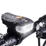 [BANGGOOD ANNI VIP EXCLUSIVE] XANES 600LM XPG + 2 LED Bicicleta Alemão Padrão Smart Sensor Luz de advertência farol dianteiro de bicicleta