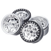 4PC 1.9inch Aluminum Beadlock Wheel Rims for 1/10 RC Crawler TRX4 #45 Car Parts