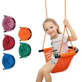 Çocuk Dokuma Salıncak Rope Net Hamak Bebek Aile Outdoor Bahçe Için Asılı Sandalye Arka Bahçe Oyuncaklar