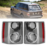 Rear Left/Right Car Tail Light Assembly Brake Lamp White+White for Range Rover Vogue L322 2002-2009