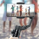 Aochuan SMART XR 3-Axis Handheld Gimbal Foldable Phone Stabilizer With Detachable 3200mAh Battery For iOS Android 55-90mm Width Smartphone