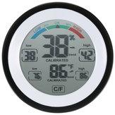 2 pezzi DANIU Multifunzione digitale Termometro Misuratore di umidità per temperatura igrometro
