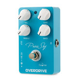 Caline CP-12 Pure Sky Overdrive Guitar Effects Pedal True Bypass with EQ Effects