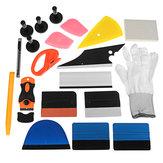 PRO Car Wrap Vinyl Tools Kit Scratch-free Scraper Razor Glove Magnesy