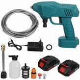 1200W 88VF portátil sem fio lavadora de carros de alta pressão lavadora doméstica limpador pistolas bombas encaixe ferramenta makita
