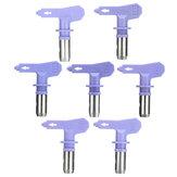 3 punte della pistola a spruzzo airless viola Serie 11-25 per Wagner Atomex Titan Spray Tip