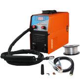 Mini MIG-200 AC220V IGBT MIG soudeur MMA TIG 1 Phase Mini Machine de soudage sans gaz avec équipement de soudage par fil
